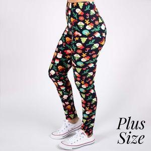 Plus Size Christmas Leggings.Women Plus Size Christmas Leggings On Poshmark